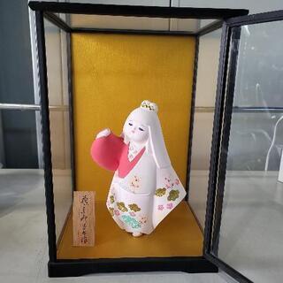 0723-017jmty 陶器 人形飾り