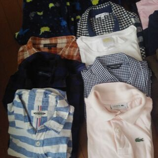 【ネット決済】130~150センチ パジャマ ズボン シャツ