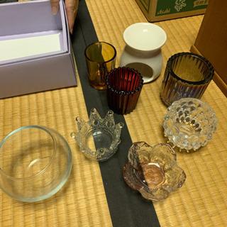 キャンドルホルダー 各種  ガラス瓶