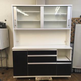 S185   泉洋化工業  キッチンボード、食器棚、幅160cm