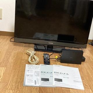 外付けHDD2tB &東芝 32型 液晶テレビセット