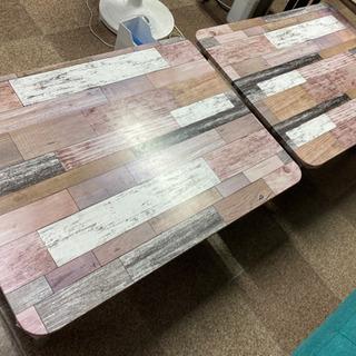 【ネット決済】【格安】リメイクテーブル 2台