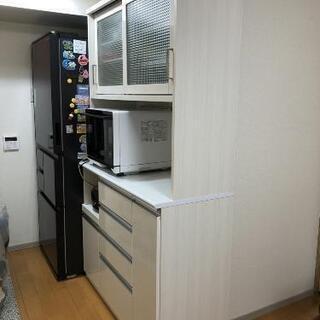 【ネット決済】食器棚(美品)値下げしました!! 引取り期限8/1...