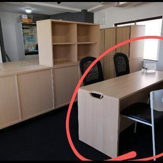 【美品】オフィス家具 カウンター 木目