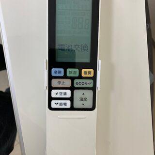 【良品】東芝 ルームエアコン リモコン付 RAS-566SDR 18畳用 200V 2015年製 - 家電