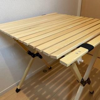 【ネット決済】アウトドア木製テーブル