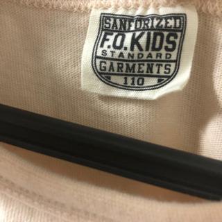美品 F.O.KIDS ワンピース ノースリーブ 110センチ − 福岡県