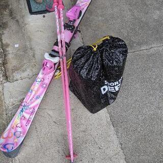 【値下げしました】スキー板、ストック、ブーツセット【美品】 - 関市