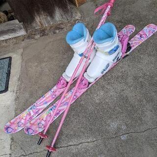 スキー板、ストック、ブーツセット【美品】