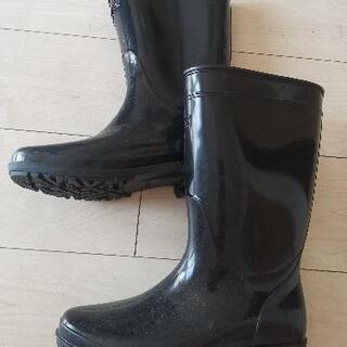メンズレインブーツ 防水長靴 25cm