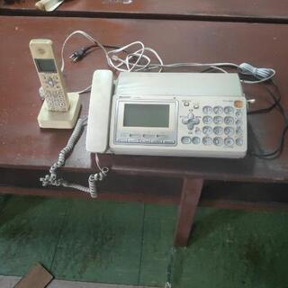 電話機、子機付(中古)