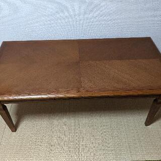 カリモク ローテーブル D60 W120 W50(センチ)