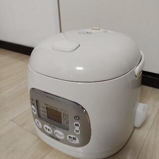 炊飯器:3合炊きホワイト