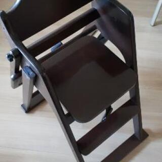 チャイルドチェア 子供用イス テーブル付き - 品川区