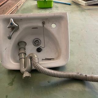 TOTO手洗器(陶器)業務用(水栓とトラップ各種付属)引取…