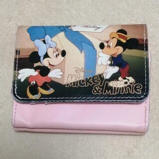 ディズニー 三つ折財布