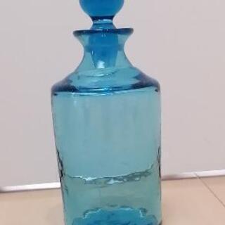 青いガラス いろいろ - 生活雑貨