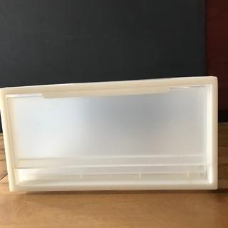無印良品 ポリプロピレン収納ケース 引出し式 小(約幅34×奥行44.5cm×18cm)の画像