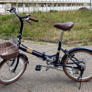【土日限定価格】折りたたみ自転車【ほぼ新品】