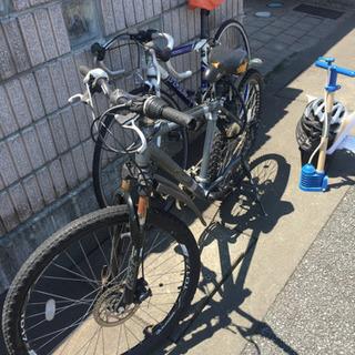 ロードバイク+マウンテンバイク+自転車関連グッズ【破格】