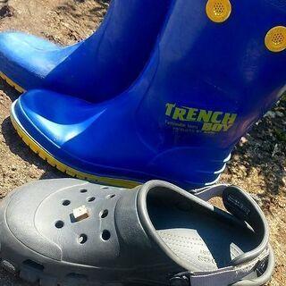 [中古]Crocs&Achilles長靴