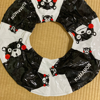 【くまモン】浮き輪★プール水泳水遊び夏川海