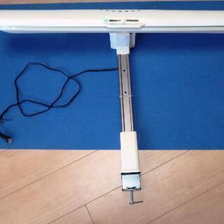 机取付型の電気スタンド