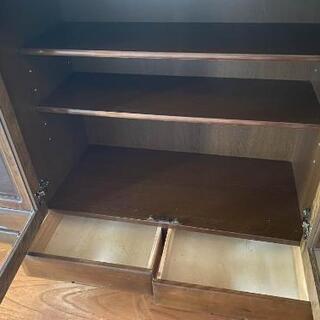 【無料・譲ります】食器棚 サイドボード 176cm x 95cm − 宮城県