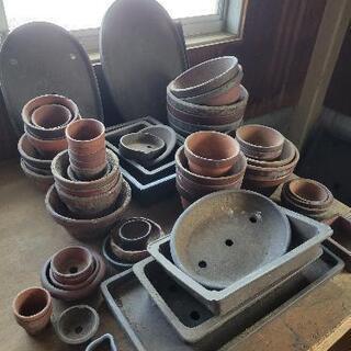 植木鉢 素焼 約5~100cm