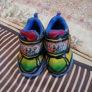 青色のリュウソウジャーの光る靴 15cm