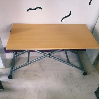 折畳み&高さ調整&キャスター付きテーブル格安で!