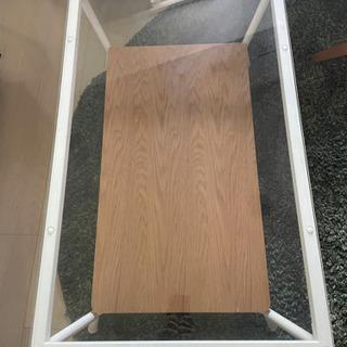ローテーブル ガラス天板