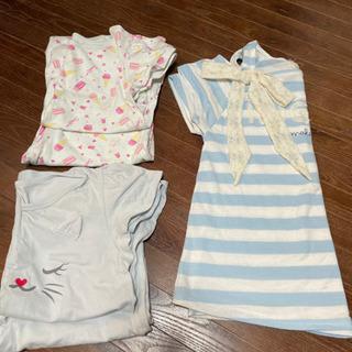 《予定者決定》女の子150㌢綿パジャマ 160㌢Tシャツ