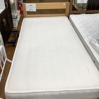 シングルベッド 無印良品 ナチュラル×ホワイト ヨゴレ有