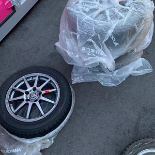 超美品アルミホイール付きタイヤ ヨコハマタイヤ 205/55R16