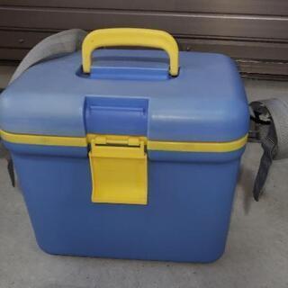 小型クーラーボックス(水色)