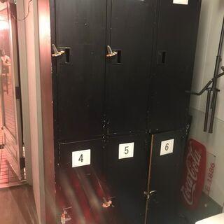 7/30までの引き取り限定 ロッカー 6人用(内1つ鍵紛失…