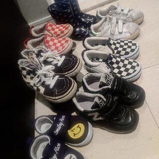 子供靴 7足まとめ - 川崎市