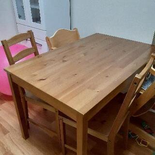 IKEA ダイニングテーブル&イス