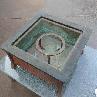 銅板火鉢 希少 レトロ品
