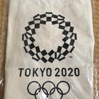 【ネット決済・配送可】オリンピック記念 トートバック