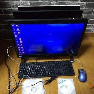 富士通一体型パソコン 3台 ジャンク品