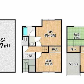 🟪売物件◆3階建て戸建て🟪 ◆平野区長吉六反◆1階ガレージ◆4D...