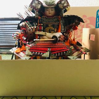 五月人形 京古代 炉山作