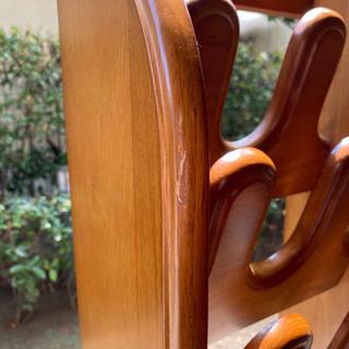 【ネット決済】【値下げしました】中古 木製スリッパラック