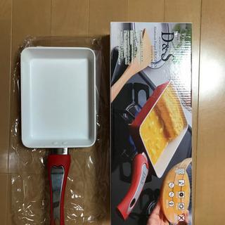 D&S  セラミック 卵焼き フライパン