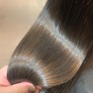 【レディース限定👧🏻東京カットがうまい5選に選出】艶髪✨似合わせカット+髪質改善トリートメント - 美容