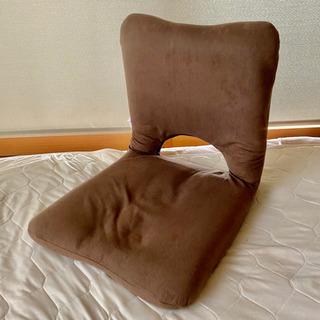 取引完了 ニトリ コンパクトにたためる座椅子 ブラウンの画像