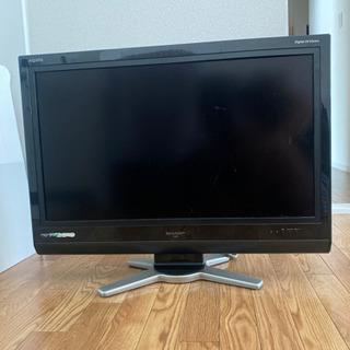 32型テレビ ジャンク AQUOS 無料