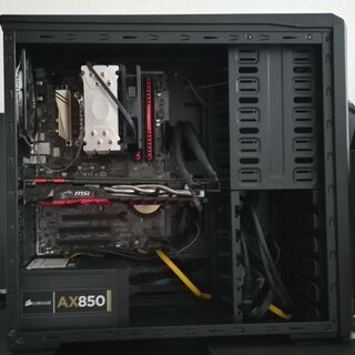 ゲーミングPC( i7-7700K CPU)自作品中古
